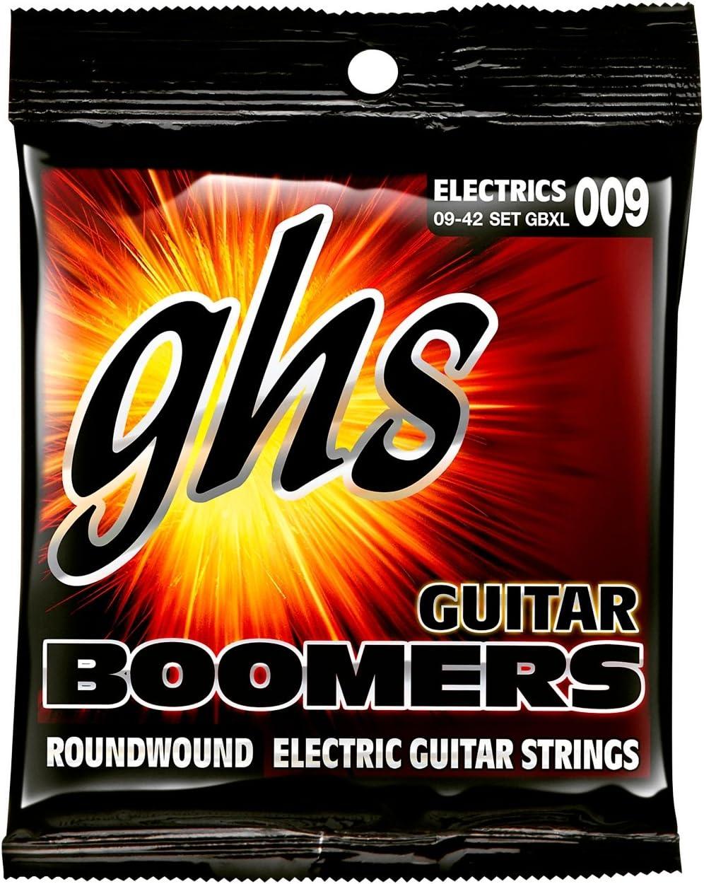 Ghs Cr-Gbcl Sub-Zero - Juego De Cuerdas Para Guitarra Eléctrica, Plata