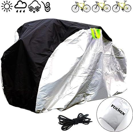 FUCNEN - Funda grande para bicicleta de interior y exterior ...