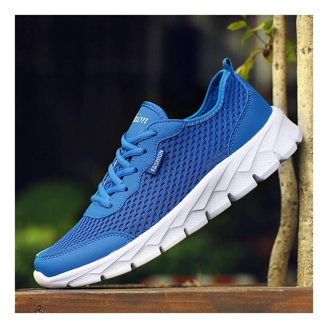 YAYADI Männer Freizeitschuhe Atmungsaktiv Ultralight Outdoor Walking Schuhe Trainer Jogging Fitness Schuhe Leichte