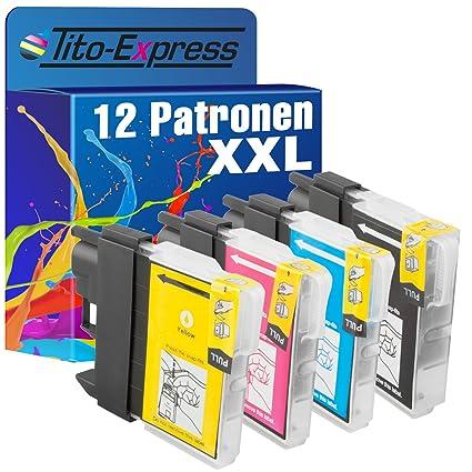 platinumserie - Juego de 12 cartuchos de tinta XXL con chip ...