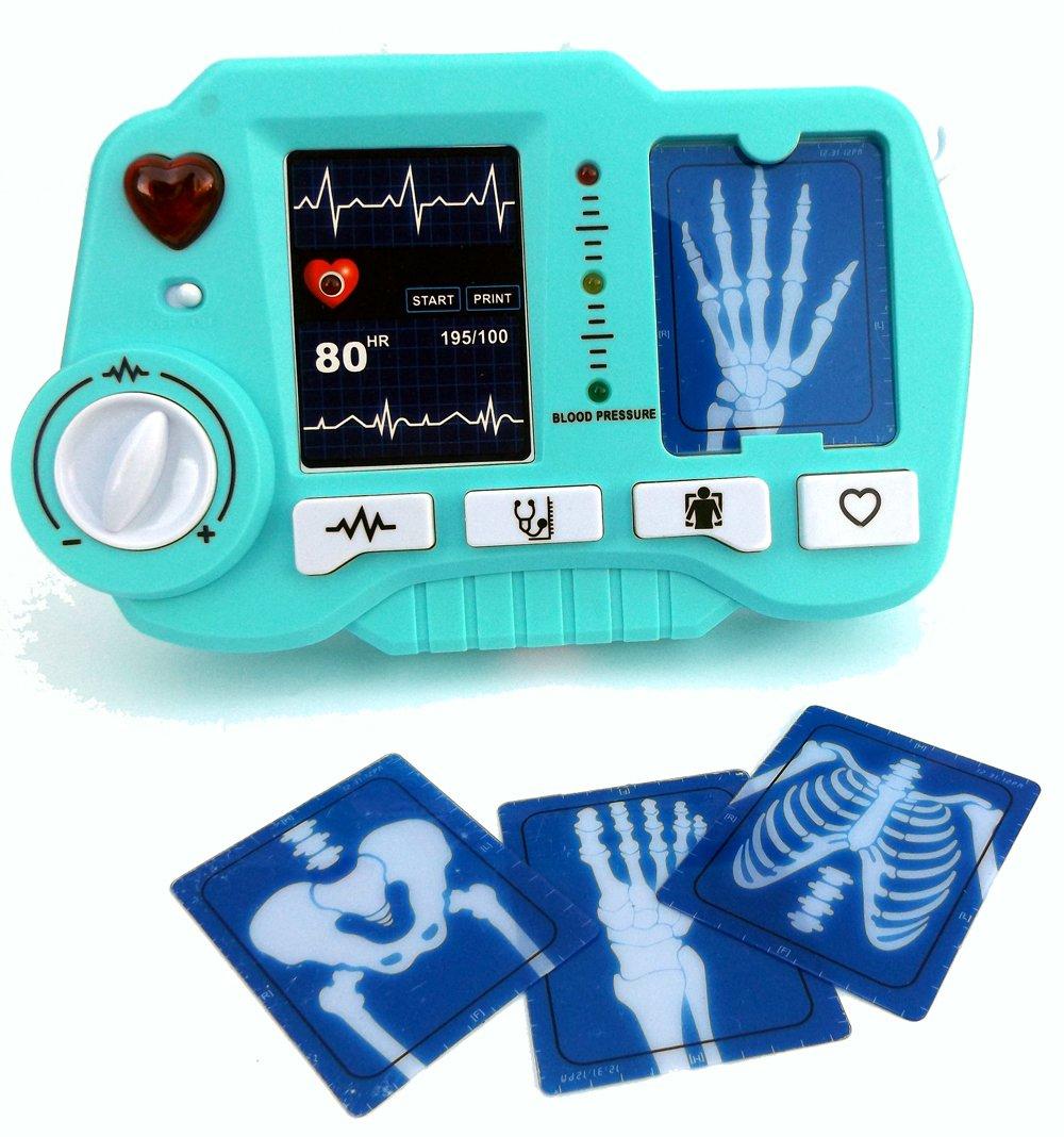 achat Brigamo ⛑ Jouet ECG–et röntgen Appareil avec fonction réaliste de ne doit en aucun Jouet de médecin absence ⛑ pas cher prix