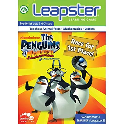 LeapFrog Leapster Learning Game Penguins Of Madagascar Toys Games