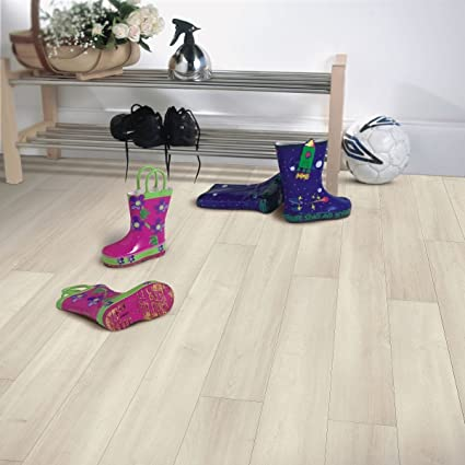 Armstrong Premium Luster Faux Wood Interlocking Laminate Flooring