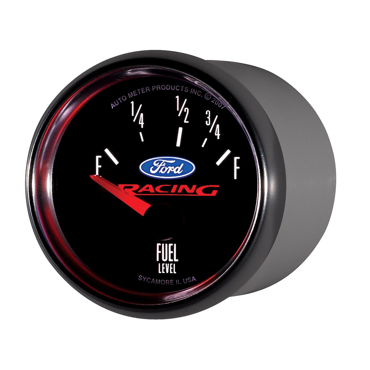 Auto Meter 880075 2-1/16'' Empty 73 Ohm/Full 10 Ohm Fuel Level Gauge for Ford Racing
