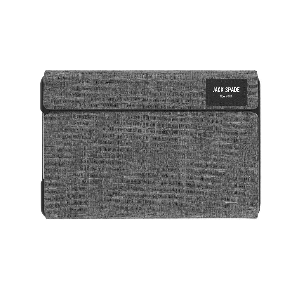 super popular 024ae b9c07 JACK SPADE Folio Case for iPad mini 4 - Tech Oxford Gray - JSIPD-002 ...