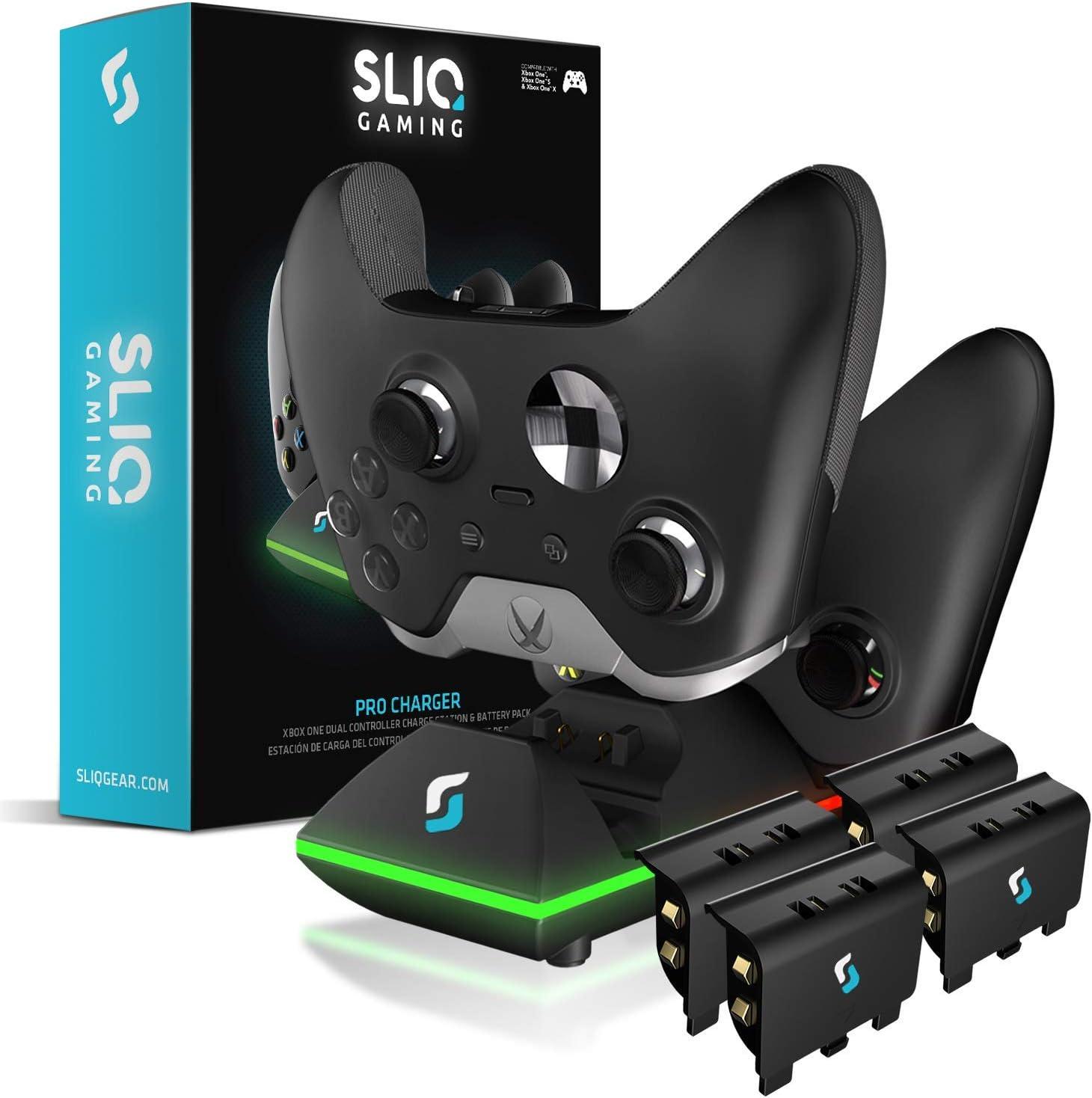 Sliq Gaming Xbox One - Estación de Carga para Xbox One y Quad ...