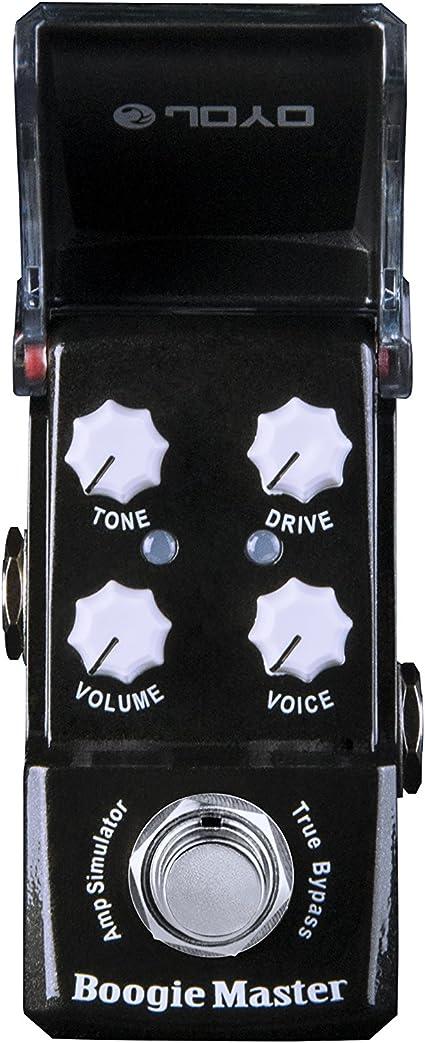 JOYO JF-309 Boogie Maestro Amp Sim mini-efectos para guitarra ...