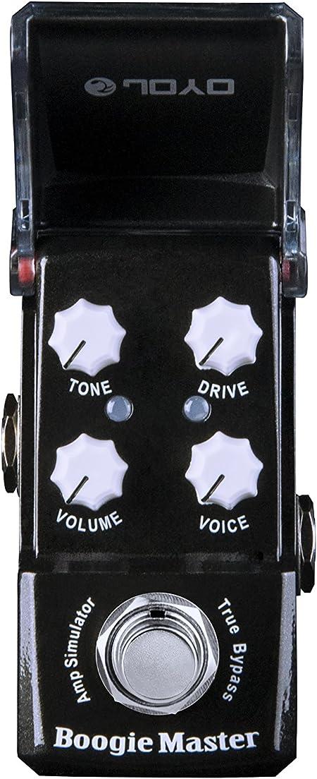 JOYO JF-309 Boogie Maestro Amp Sim mini-efectos para guitarra Pedal Ironman