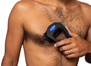 baKblade Grooming Co. - BODblade - Ergonomic Body Shaver for Shaving Chest, Arms and Stomach Region