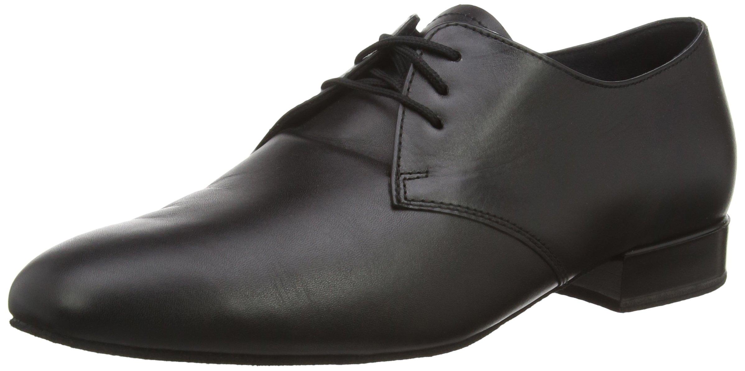 Diamant Men's Model 095 - 3/4'' (2 cm) Standard Shoe for Tango/Salsa, 9.5 M US (9 UK)