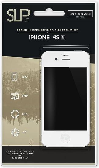 Apple iphone 4S 32GO, Blanco (Reacondicionado): Amazon.es ...
