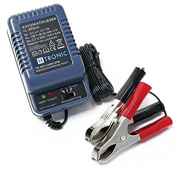 H-Tronic AL 300pro 2/6/12V Cargador Automático Baterías ...