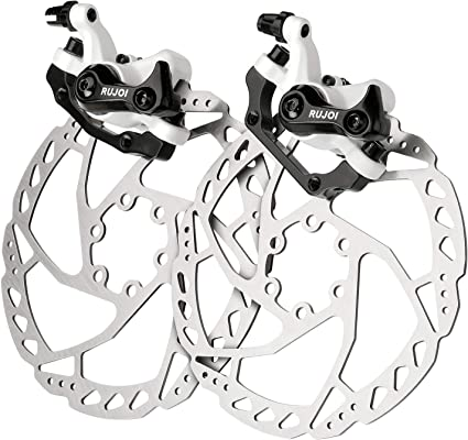 160mm Rotor Kit Hot Road Mountain Bike Mechaincal Disc Brake Front//Rear Caliper