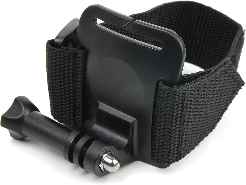 DURAGADGET Adjustable Wrist Strap Mount Screw Thread Adapter Roam 2 /& Roam Compatible with Contour +2