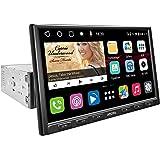 [Tela IPS Flutuante de DIN único / 8 polegadas]ATOTO S8 Gen2 Android Car Navigation Stereo,Padrão / S8G1A84SD,Tethering USB,B