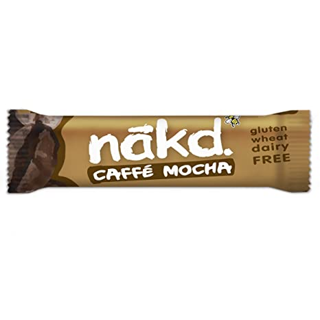 Nakd Caffe Mocha Bar 35 g (Pack of 18)