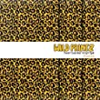 Cheetah Print Multi-Pack Printed Heat-Transfer Vinyl 3 Sheets 12x12 for Vinyl Cutters
