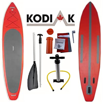 Amazon.com: Kodiak Barco Inflable – Tabla de Stand Up Paddle ...