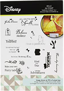 Character World Belle Disney Beauty and The Beast Stamp Set