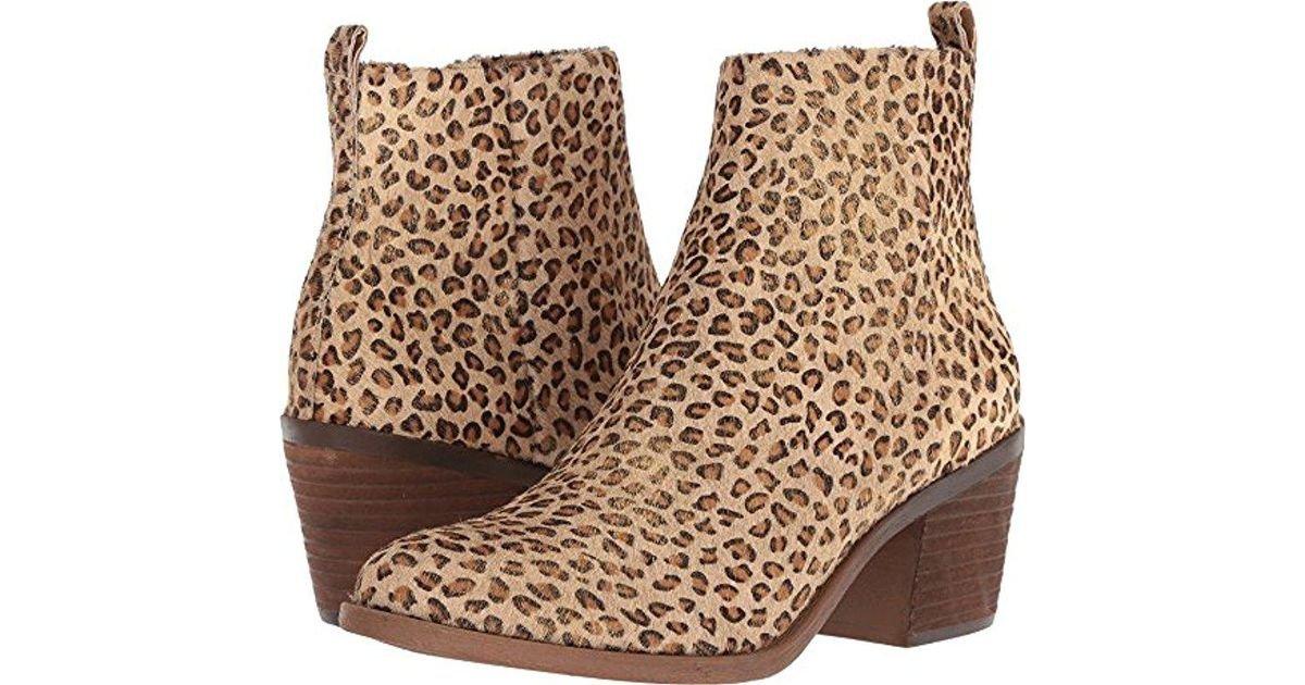 Lucky Brand Women's Natania Ankle Boot B07CP819LQ 6 B(M) US|Mini Metallic