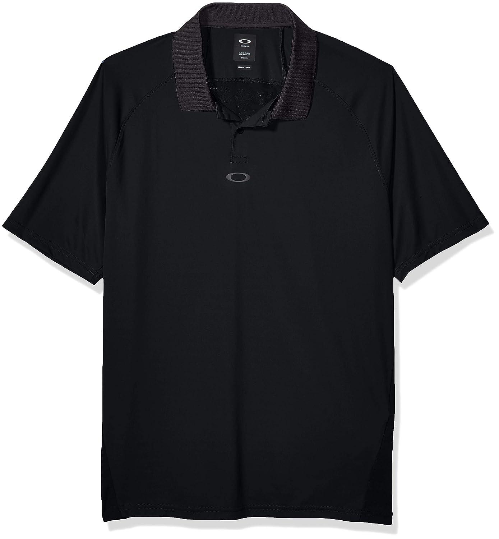 Oakley Mens Polo Shirt Ss Back Striped, Blackout, M: Amazon.es ...