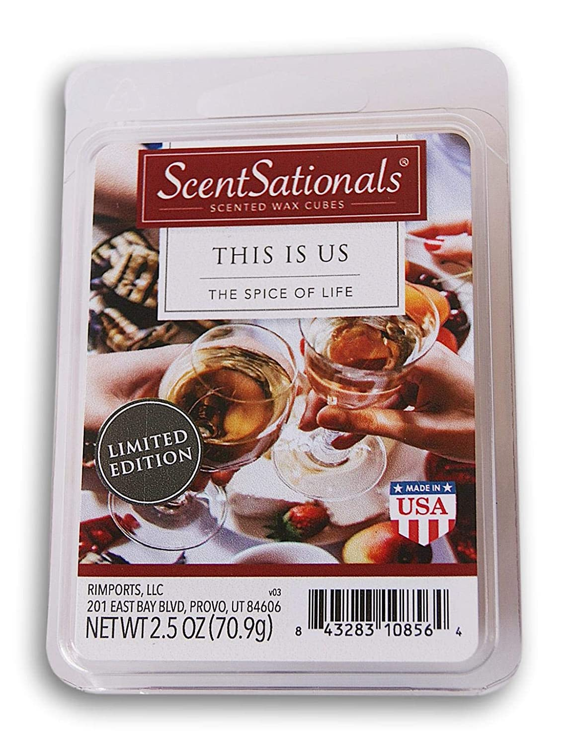 ScentSationals This is Us Wax Cubes 2019 Limited Edition