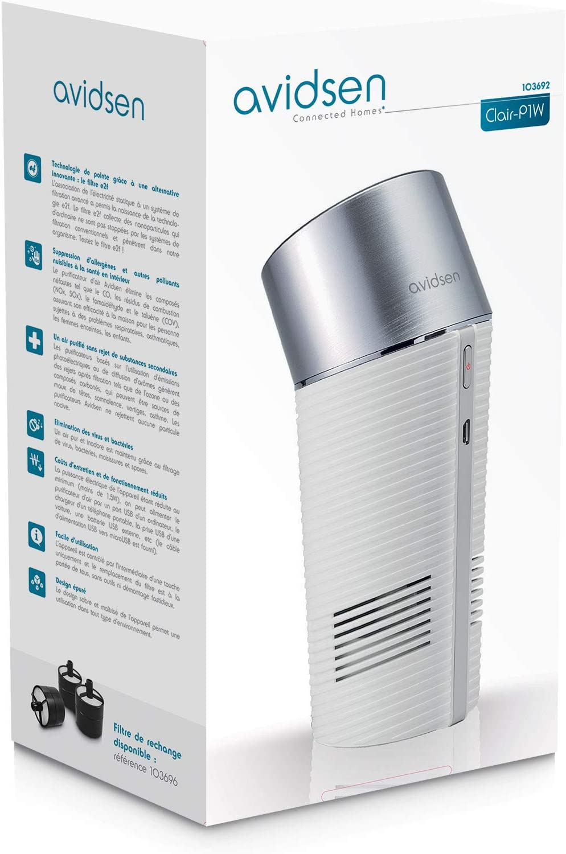 Avidsen 103692 purificador de aire clair-p1 W: Amazon.es ...