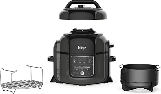 Amazon.com: Ninja OP301 Foodi 9-in-1 Pressure, Slow Cooker, Air ...