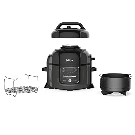 Amazon.com: Ninja TenderCrisp Pressure Multi Cooker quart ...