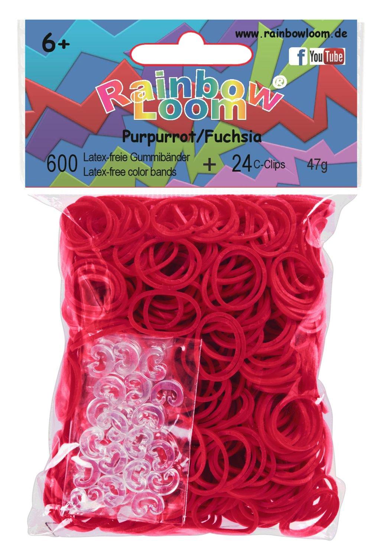Rainbow Loom RL256 Gummibnder Mix Meerjungfrau 600 Stck