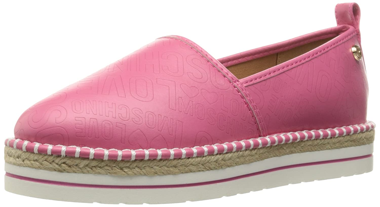 moschino espadrilles pink