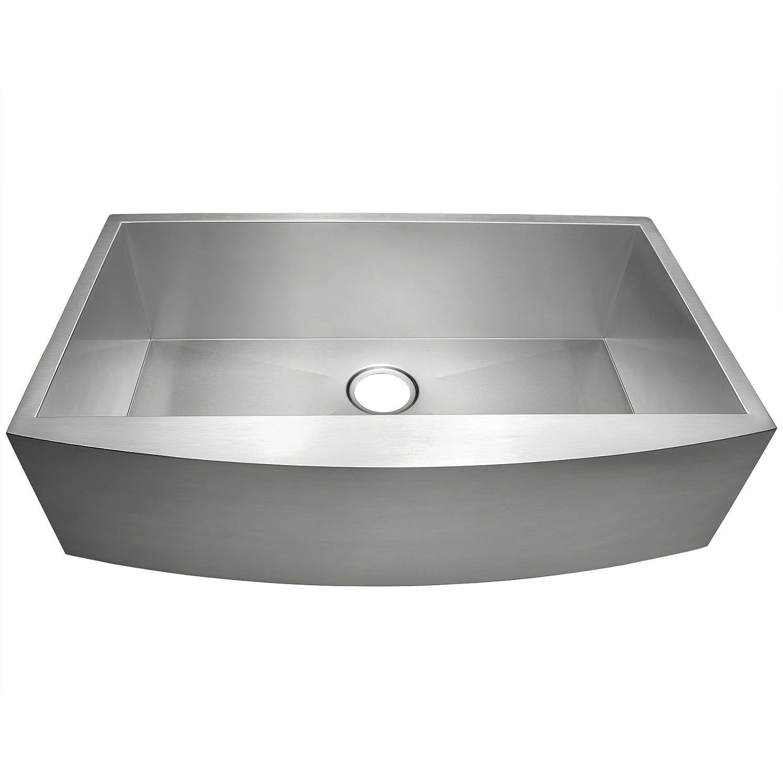 akdy 30 x 20 x 9 18 gauge handmade stainless steel undermount