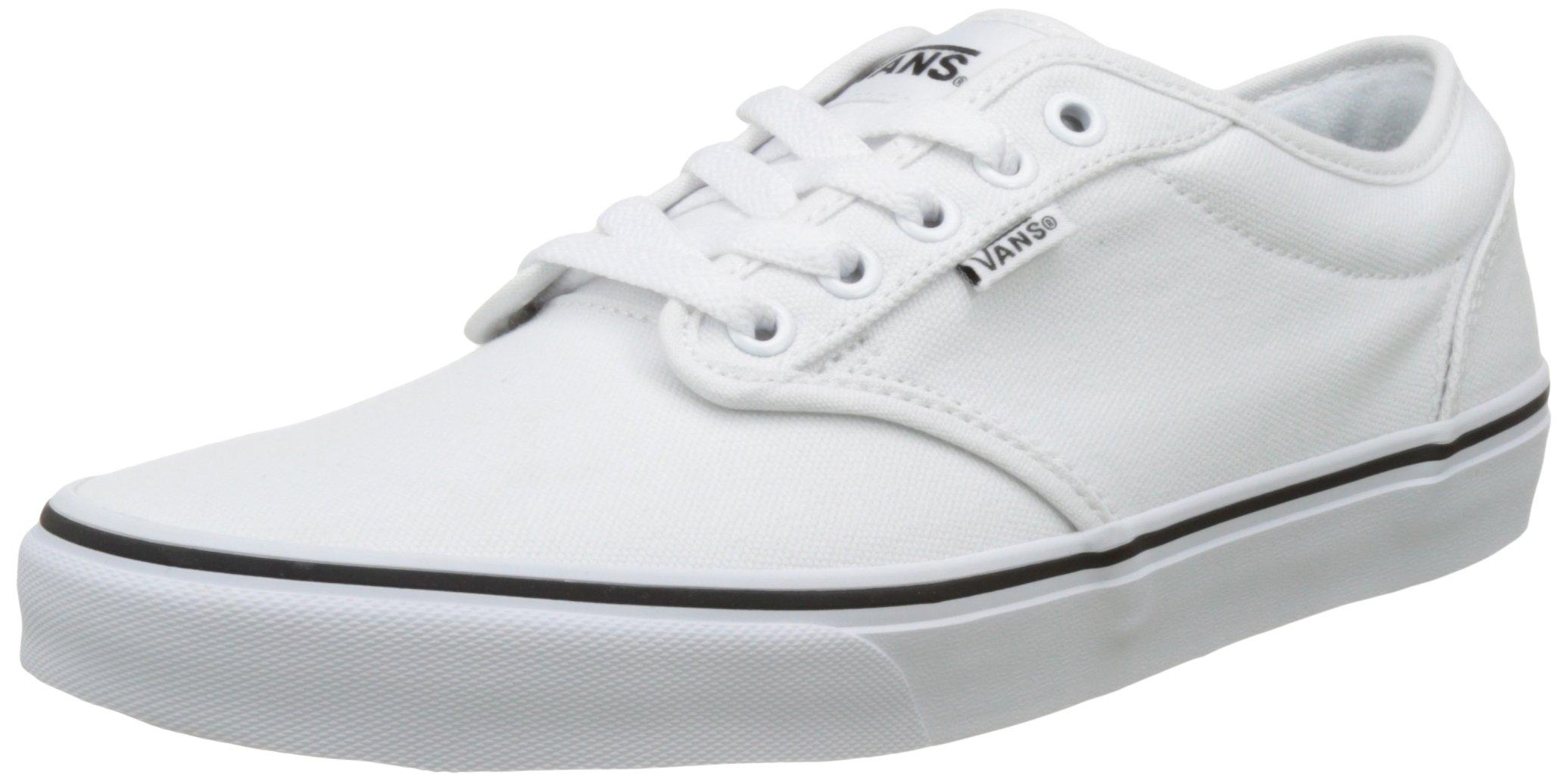 f565b150dcc03 Vans Men's Atwood White/White Skate Shoe 10 Men US