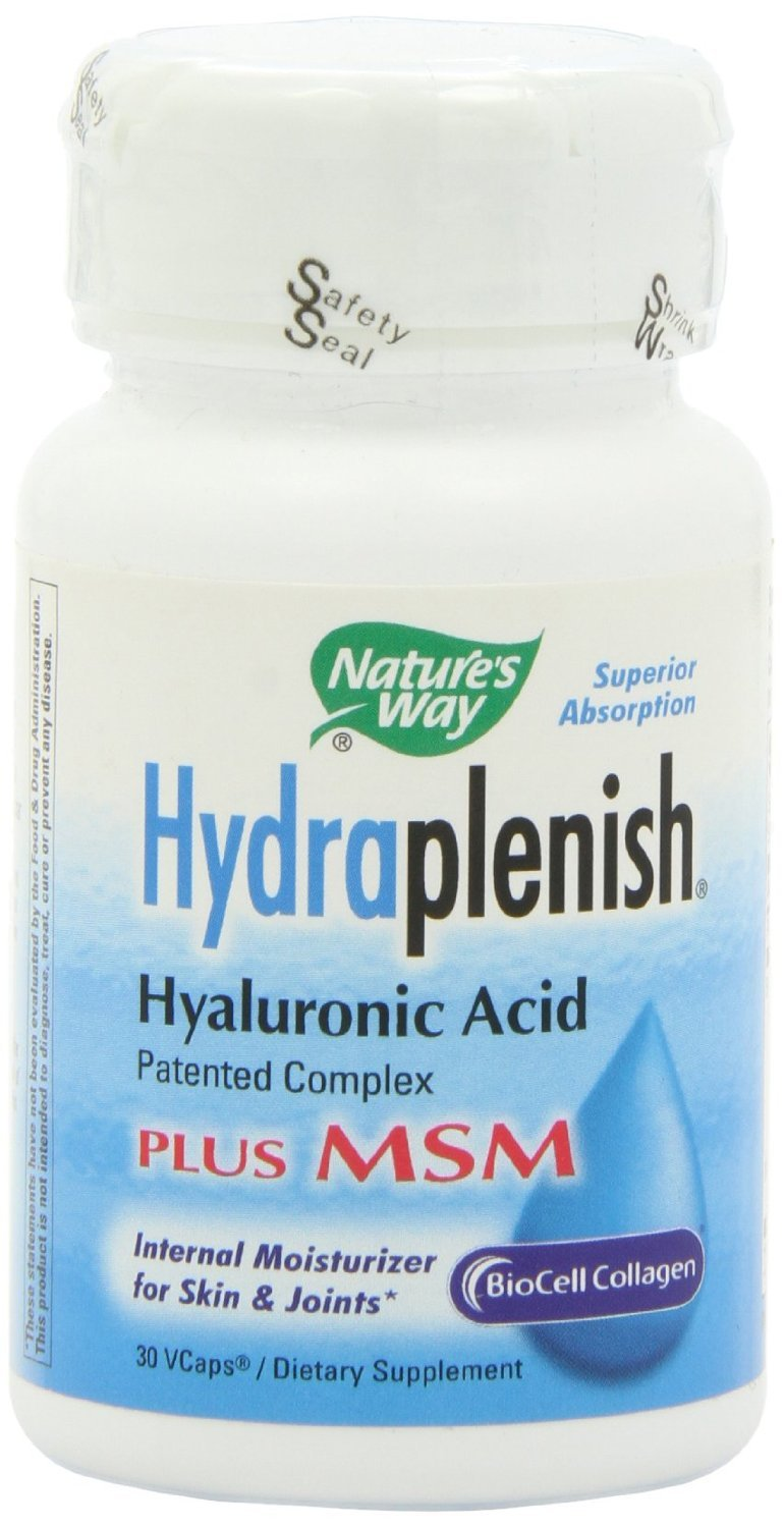 Nature's Way Hydraplenish with MSM, 30 Vcaps (Pack of 2)
