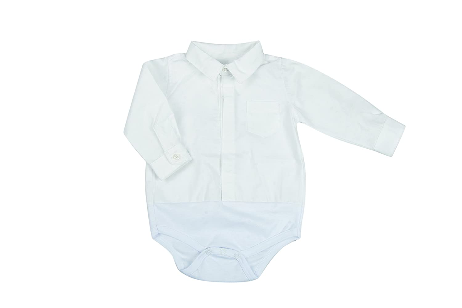 100/% Cotton Bodysuit for boy and Girl Button-Down Style BabyVip Ribbed Pattern