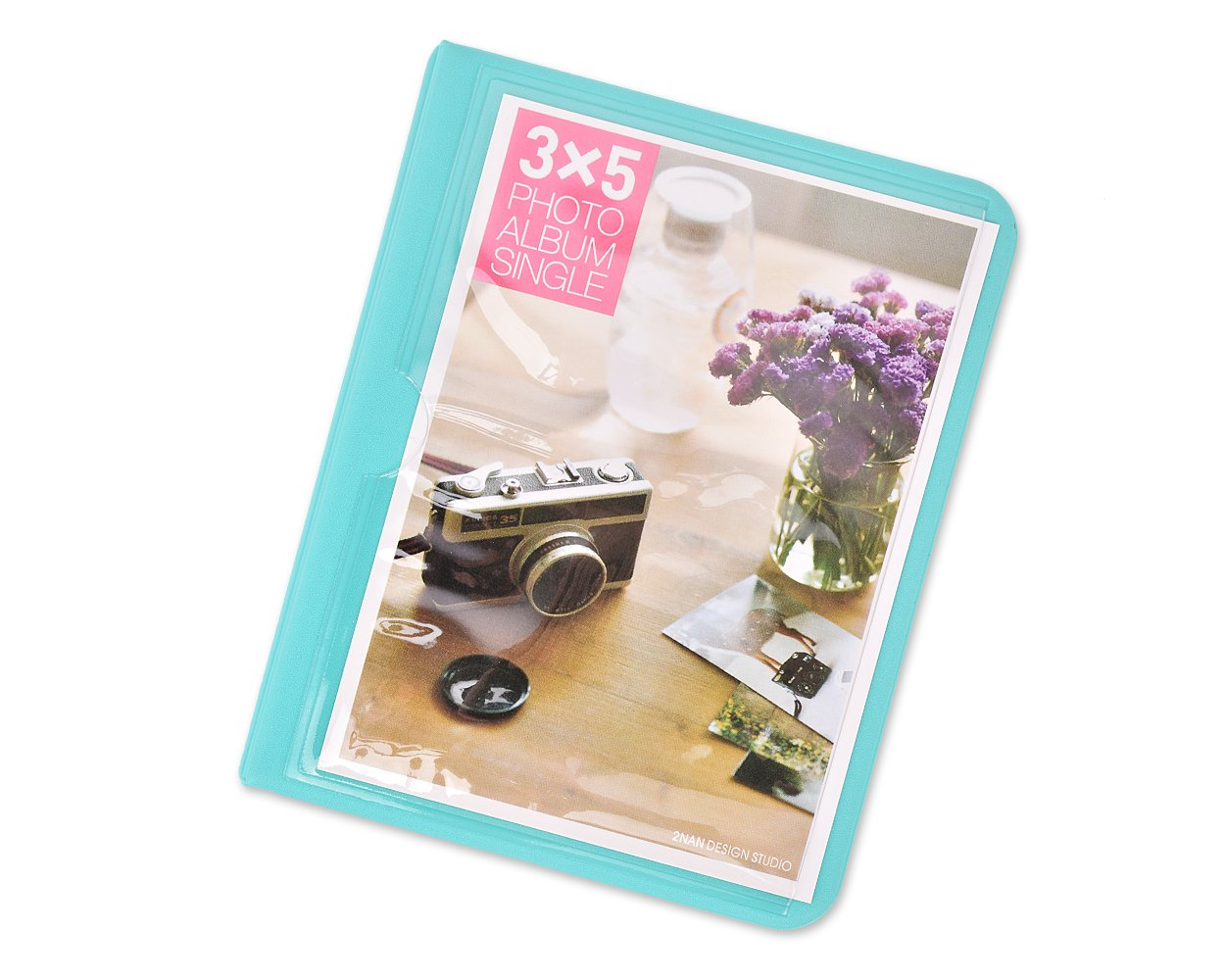 DSstyles Á lbum de fotos Libro de fotos de 32 bolsillos Mini á lbum libro para Fujifilm Instax Wide 300, Wide 210, Wide 200 Fotos - Como ds. distinctive style