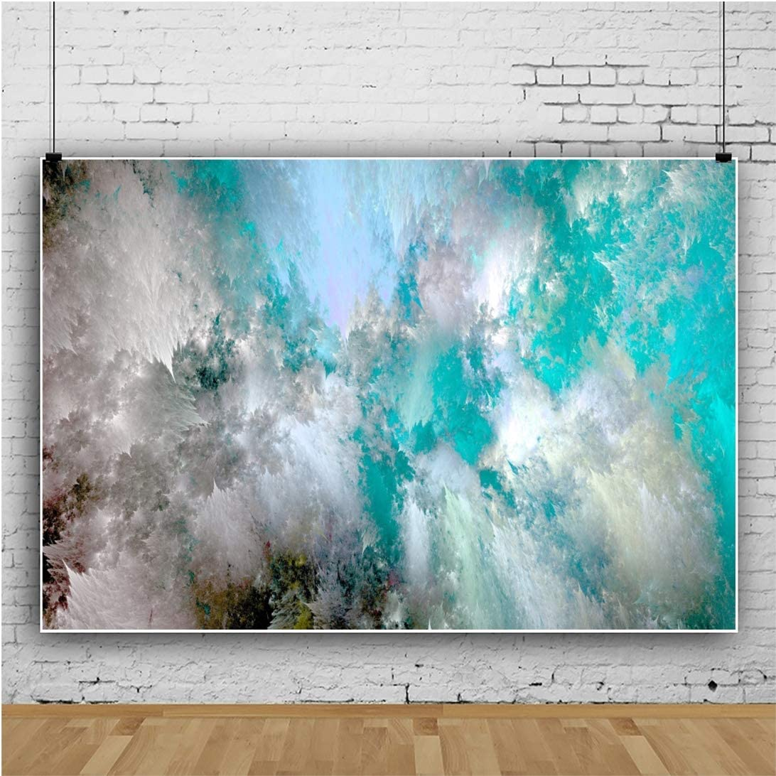 Yeele 10x8ft Gym Background for Photography Floor to Ceiling Window Glass Wall Forest Mountain Treadmill Interior Decoration Sunshine Photo Backdrop Studio Props Wallpaper