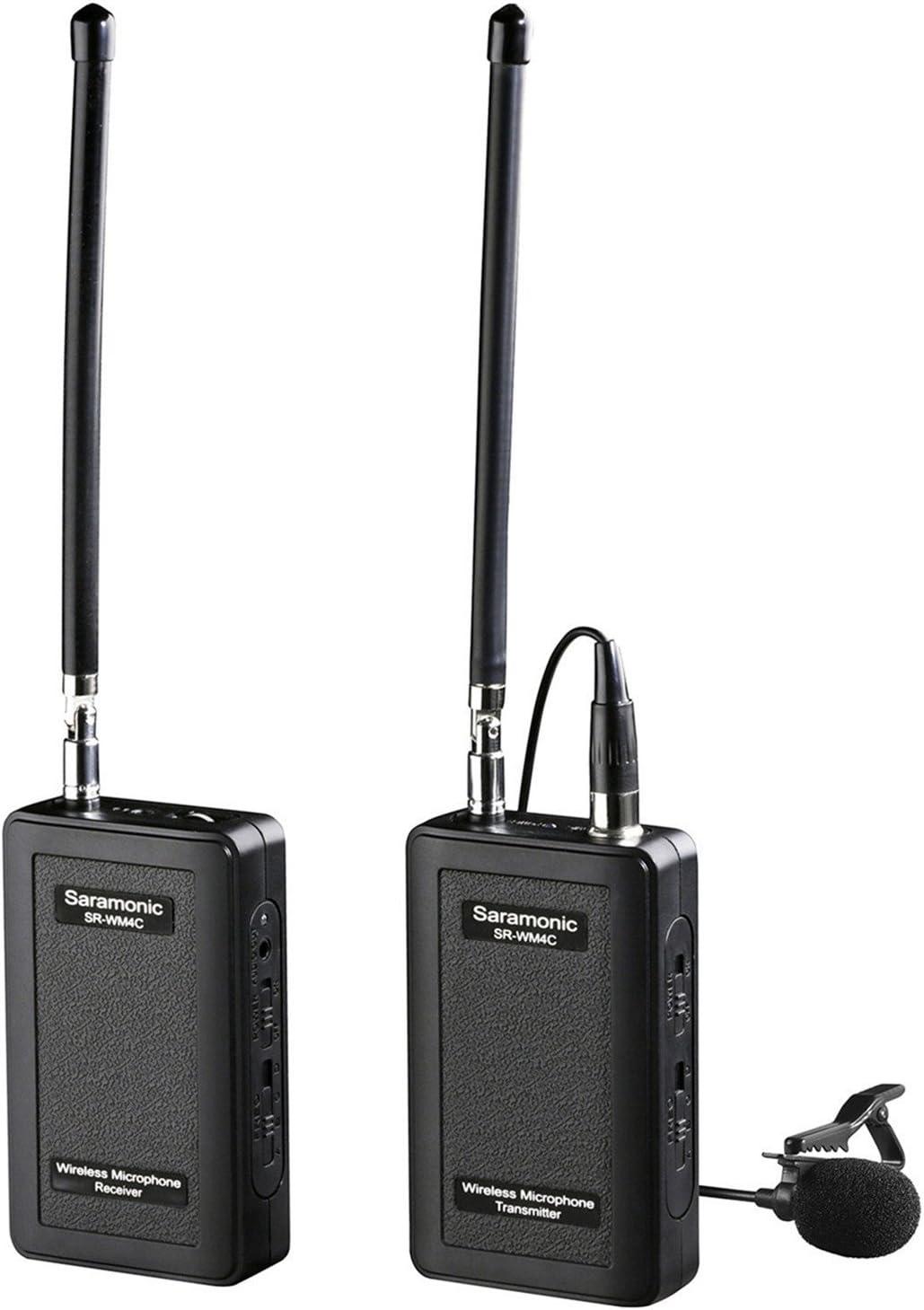 Saramonic Sr Wm4c Kabelloses Mikrofon Schwarz Kamera