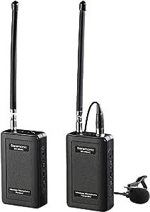 Saramonic SR-WM4C Camera External Digital & Camcorder Wireless Lavalier Microphone System - Black