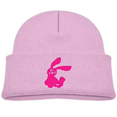 Wangqumi Bunny Top Level Unisex Beanie Hat For Cute Baby Boy/Girl Soft Toddler Infant Cap Take Care Of Your Head, Warm And Comfortable Soft And Elastic