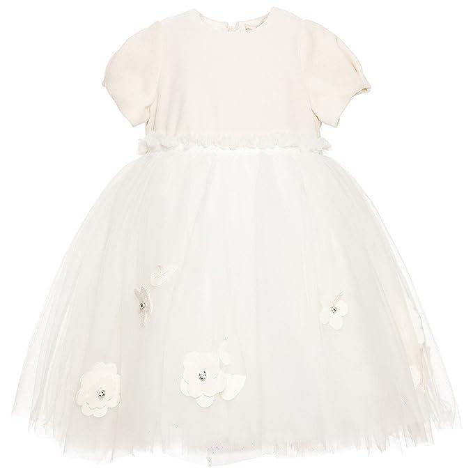 hot sale online 62926 a8863 Abito Battesimo MONNALISA Chic 12M: Amazon.it: Abbigliamento