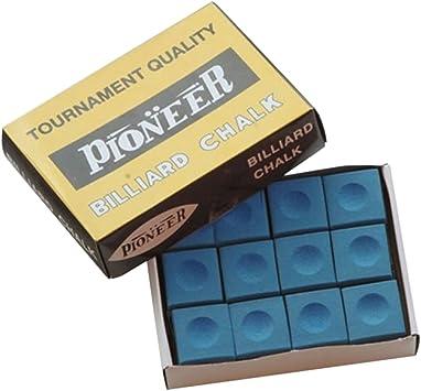 Pionner - Tiza de billar, color azul: Amazon.es: Juguetes y juegos