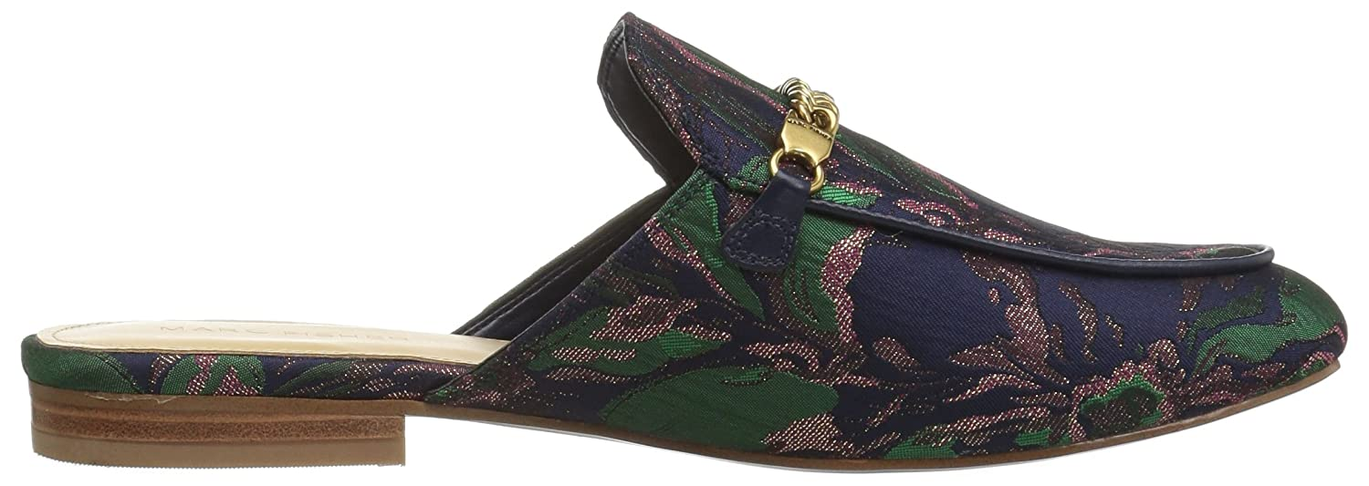 Marc Fisher Women's Whiley Mule B071L7F3BB 8.5 B(M) US|Navy Green