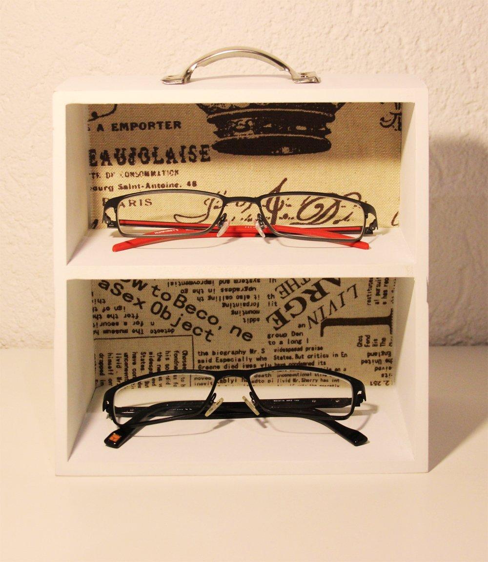 Brillenregal Brillenaufbewahrung Vintage