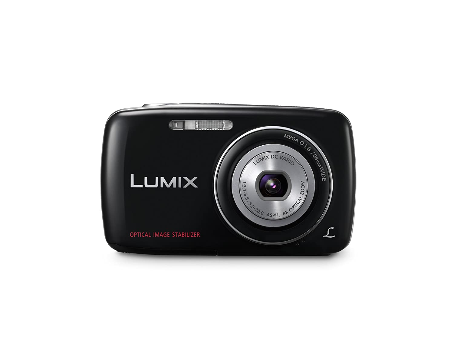 Panasonic Lumix DMC-S3 14.1 MP Digital Camera with 4x Optical Image Stabilized Zoom with 2.7-Inch LCD (Black)