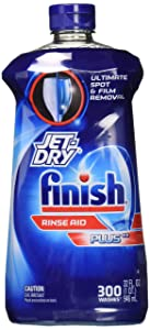 FinishJet-Dry Plus Dishwasher Rinse Aid 32 Fl Oz