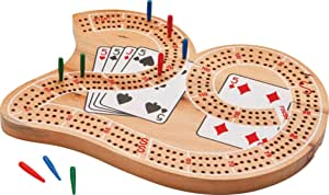 "Mainstreet Classics Wooden ""29"" Cribbage Board Game Set"