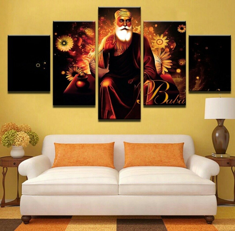 Amazon.com: [LARGE] Premium Quality Canvas Printed Wall Art Poster 5 ...