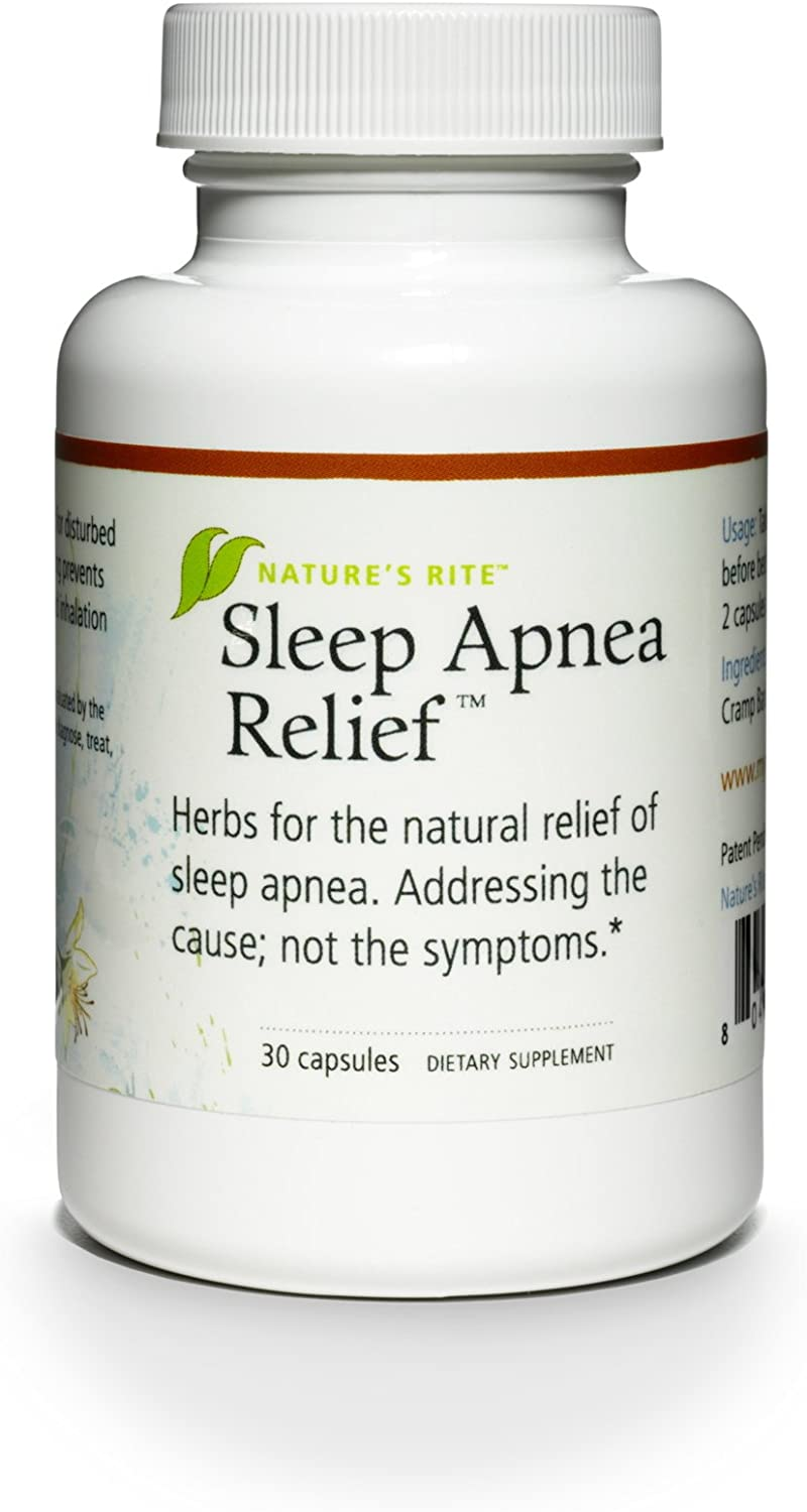 Nature's Rite Sleep Apnea Relief, 30 Count: Health & Personal Care