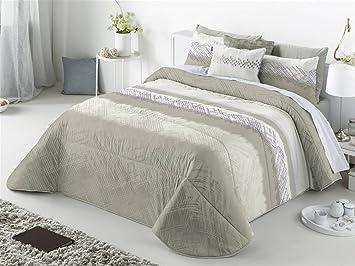 Maison créative Aranda Couvre lit avec Coussin décoratif 250x270x1